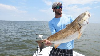How to estimate the weight of a redfish