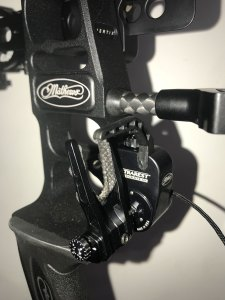 Mathews' Ultra Rest Integrate MX arrow rest is a special addition to the Vertix bow.
