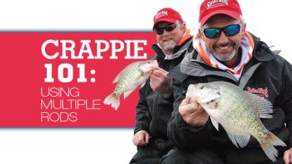 Crappie 101: Tips for using multiple-rod setups