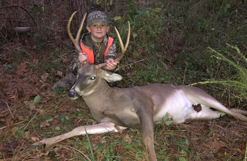 Reed Courtney bagged a trophy Hinds County 4-point for his second buck of the season.