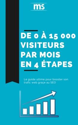de 0 à 15000 visiteurs par mois