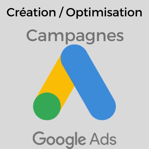 Création de campagne Google Ads