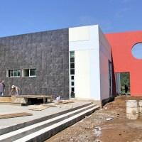 90 % De avance en la construcción de la Universidad Politécnica de Uruapan