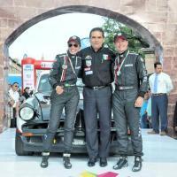 Gobernador Silvano Aureoles da bienvenida a participantes de la 28 Carrera Panamericana 2015