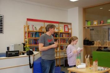 Advent in der Bibliothek