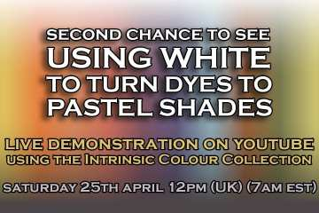 (REPLAY) Using White to Turn Wood Dyes to Pastel Shades
