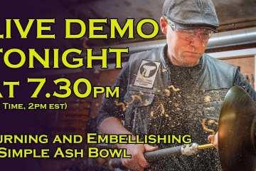 (REPLAY) Simple Embellished Ash Bowl