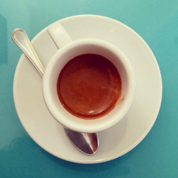 Last espresso of 2012