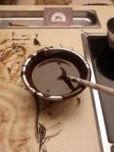 Making chocolate at Perugina's chocolate school