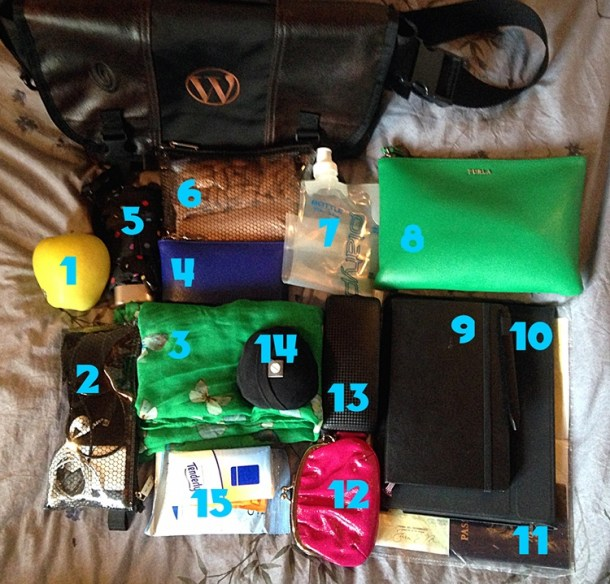How I travel - my carry-on by Sara Rosso