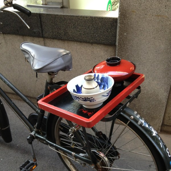 A mobile meal in Tokyo, Japan, by Sara Rosso at Ms. Adventures in Italy