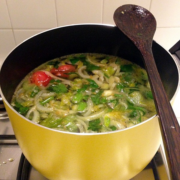 Vegetable Broth Recipe by Sara Rosso, Ms. Adventures in Italy