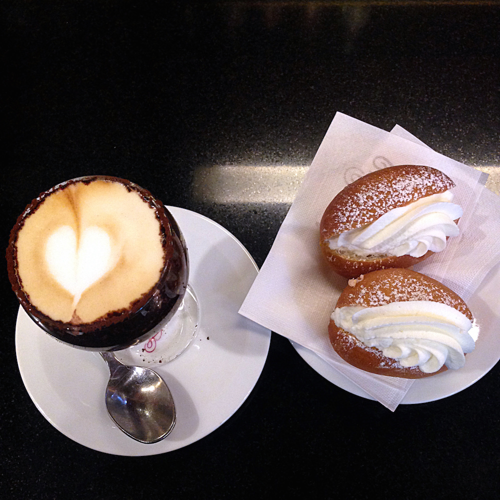 Birthday Espresso and Maritozzi by Ms. Adventures in Italy, Sara Rosso