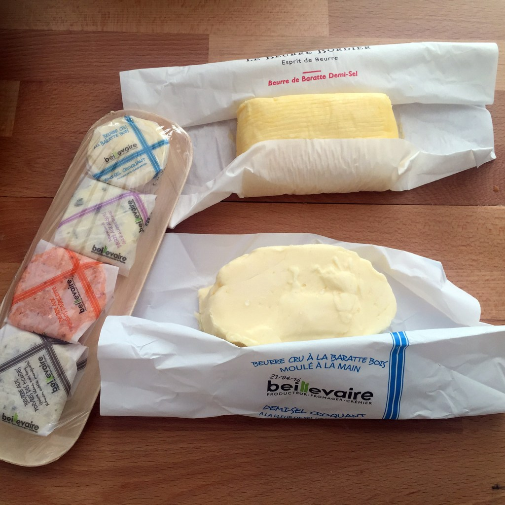 French butter tasting, Ms. Adventures in Italy, by Sara Rosso