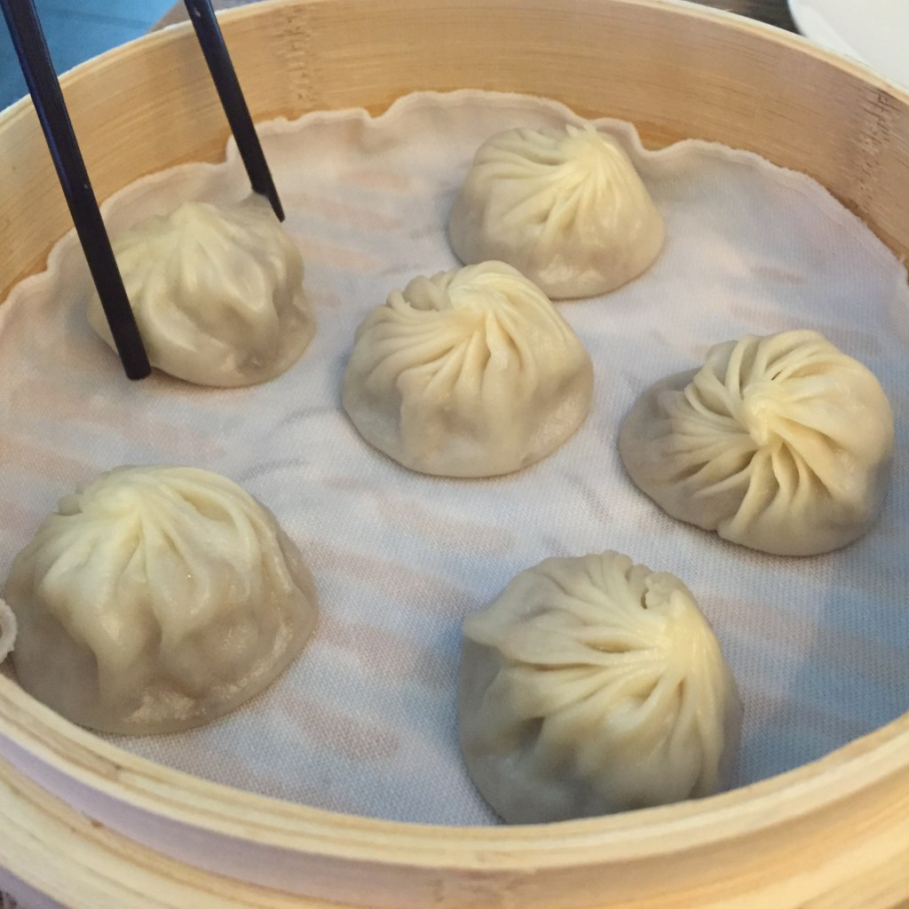 Shanghai soup dumplings, Ms. Adventures in Italy, by Sara Rosso