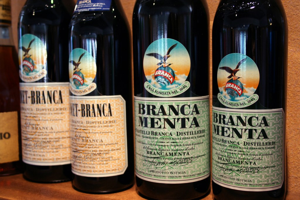 Fernet Branca, Ms. Adventures in Italy by Sara Rosso