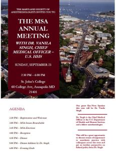 MSA 2018 Annual Meeting is Now CME Accredited. Register Here!