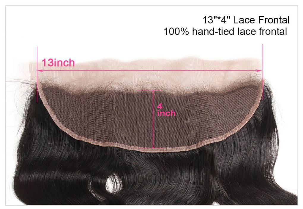 body wave bundles lace closure 1