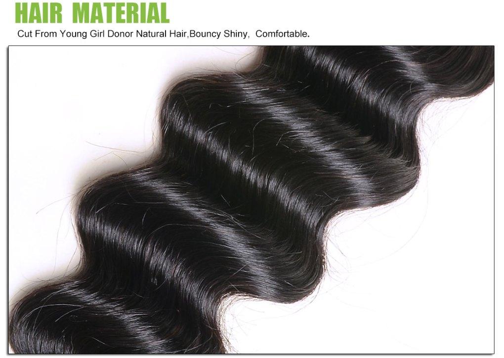 loose deep wave hair bundles 1