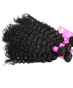 Curly Wave Hair Bundles Virgin Human Hair 6