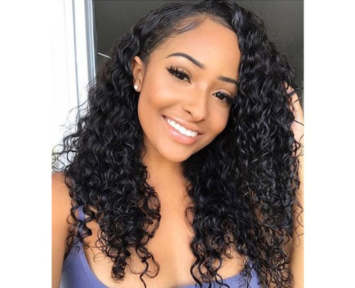 Indian Water Hair 4 Bundles With Lace Frontal Closure Deals