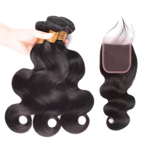 body wave with lace closure