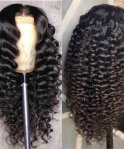 Loose Deep Hair Human Hair Wigs