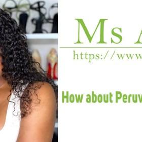 How about Peruvian hair bundles