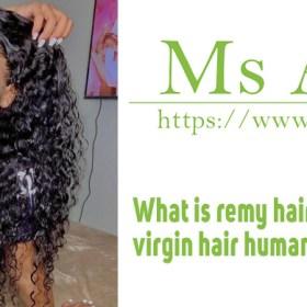 What is remy hair non remy hair virgin hair human hair