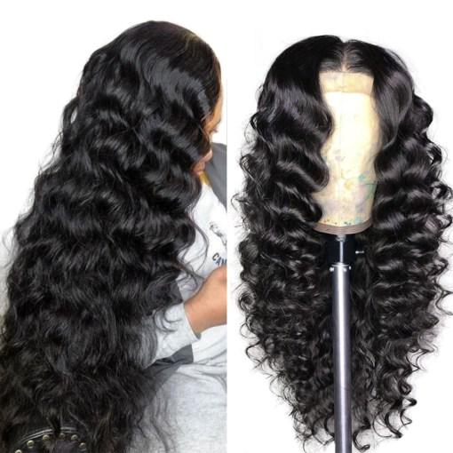 Loose Deep Wave 4x4 Lace Closure Wig