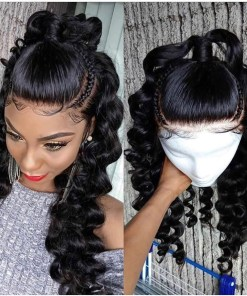 Loose Wave 5X5 Lace Closure Wigs