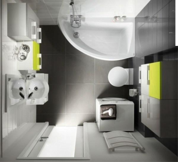 Дизайн маленькой ванной комнаты - 35 фото интерьера (вид ...