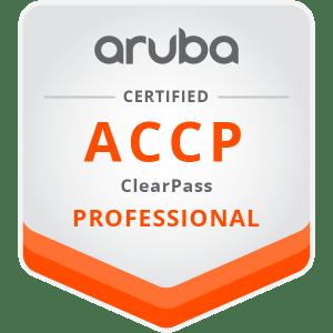 Aruba0ACCP-ClearPass