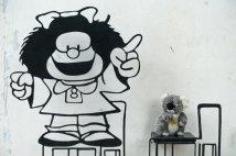 J'ai retrouvé ma toujours aussi grande copine Mafalda