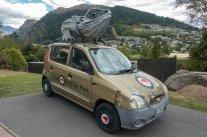 Mon ami Tuatara m'a prêté sa voiture