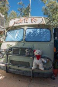 Avec mon pote l'ours, gardien de Betty Boop