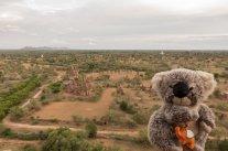 Au coucher du soleil à Bagan