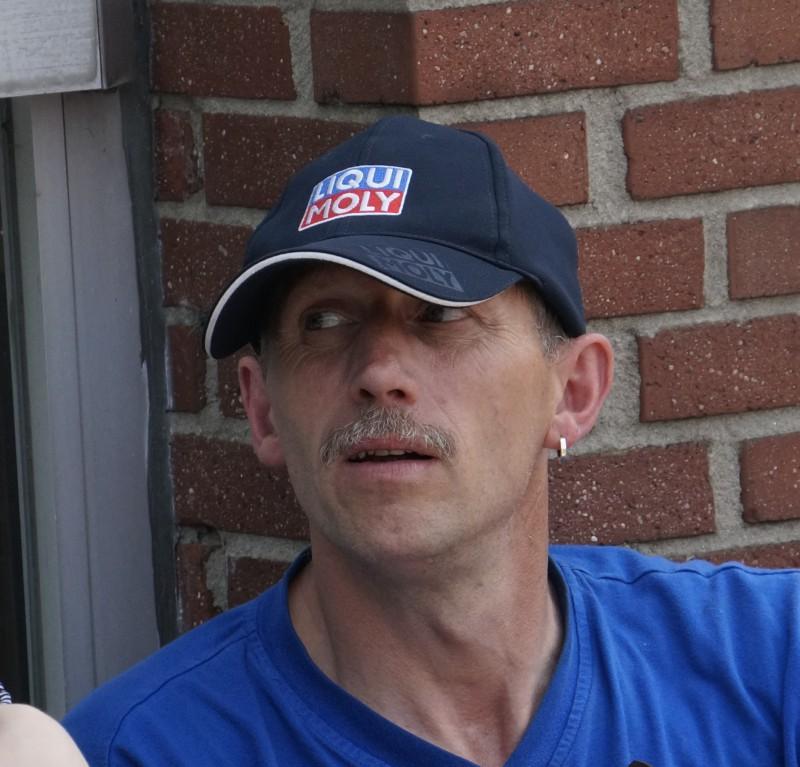 Slalom Fahrer Jürgen Maier