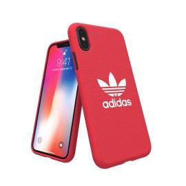 adidas Originals adicolor Moulded Case iPhone X Red
