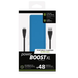 mophie power BOOST XL Blue