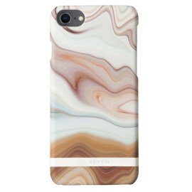 SO SEVEN MARBLE NUDE for iPhone 8