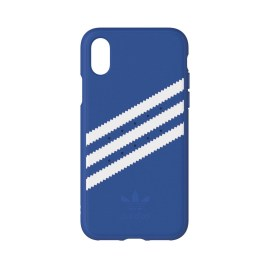 [au+1 Collection Select] adidas Originals Moulded Case for iPhone X Blue/White