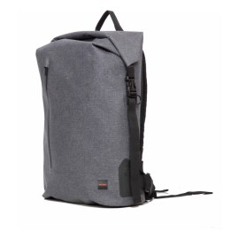 KNOMO Cronwell Backpack 15 Rolltop Gray
