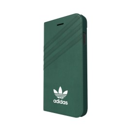 adidas Originals Suede Booklet iPhone 7 Mineral Green/White