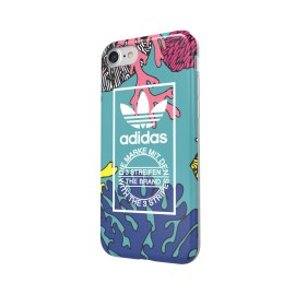 【取扱終了製品】adidas Originals TPU Case iPhone 7 Coral Graphic