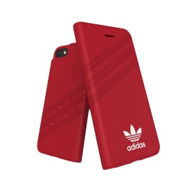 adidas Originals Gazelle Booklet Case iPhone 8 Royal Red/White