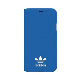 adidas Originals TPU Booklet iPhone X Bluebird/White