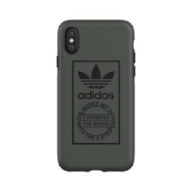 【取扱終了製品】adidas Originals TPU Hard Cover iPhone X Shadow Green