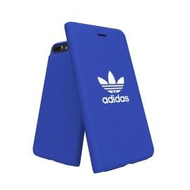 【取扱終了製品】adidas Originals adicolor Booklet Case iPhone 8 Plus Blue