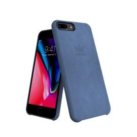 adidas Originals Slim Case ULTRASUEDE Case iPhone 8 Plus Blue
